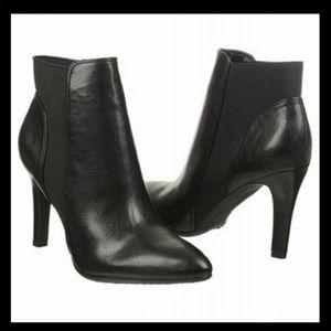 Franco Sarto Crysalis Black ankle boot booties